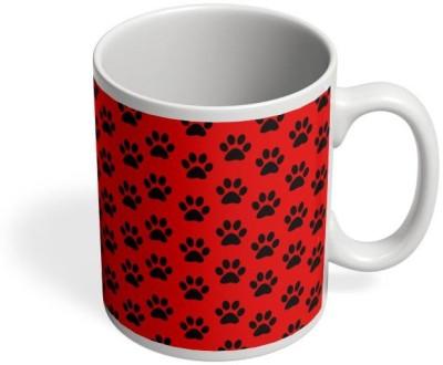 PosterGuy Cat Paws Pattern, Cat, Paws Ceramic Mug