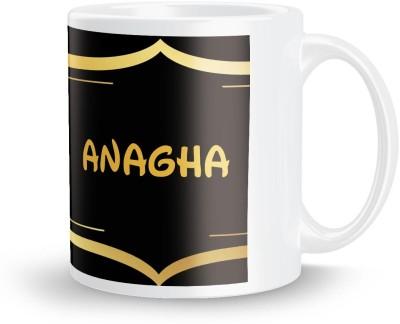posterchacha Anagha Name Tea And Coffee  For Gift And Self Use Ceramic Mug