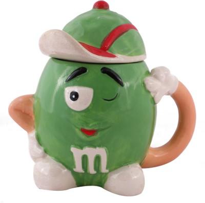 Emerge Green M&M Porcelain Mug