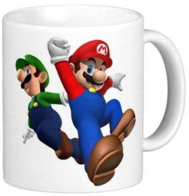 G&G Flying Mario And Luigi Ceramic Mug