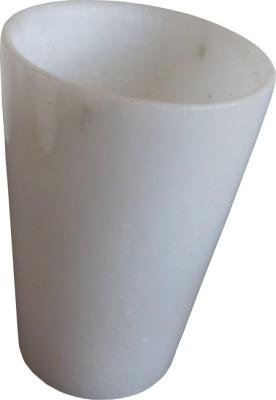 Shopile White Marble Crystal Mug