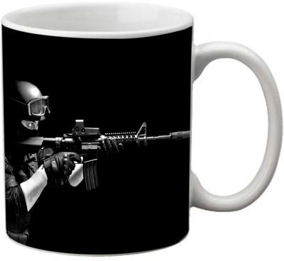 Romanshopping Counter Strike  Bone China Mug