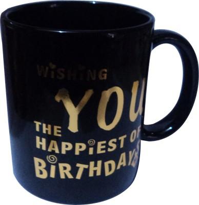 swadesibuyzzar Happy Birthday  Ceramic, Bone China Mug