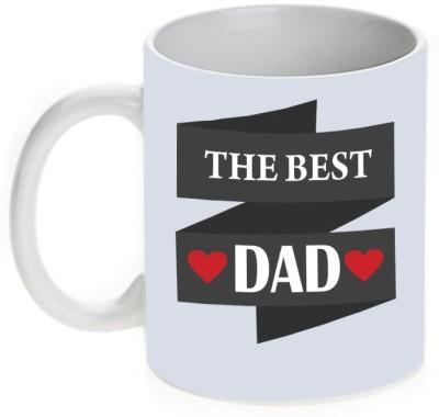 Mugwala The Best Dad Ceramic Mug