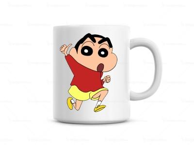 Huppme Running Shinchan  Ceramic Mug