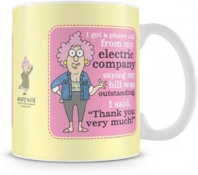 Aunty Acid Electric Company Ceramic Mug