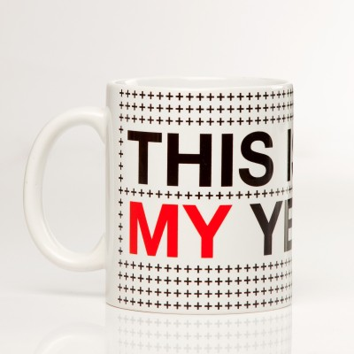 LetterNote This is My Year Ceramic Mug