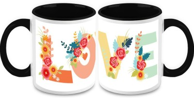 HomeSoGood Animated Love (2 s) Ceramic Mug