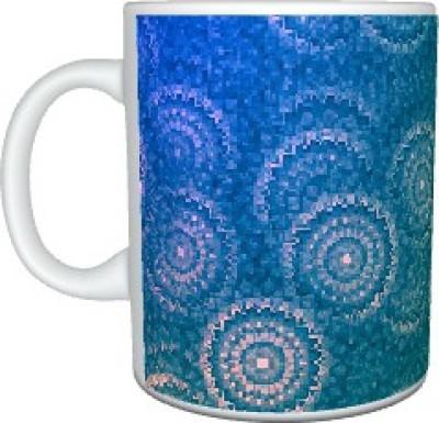 Creatives Flowers Motif Ceramic Mug