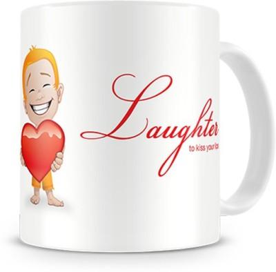 Print Haat Laughter Ceramic Mug
