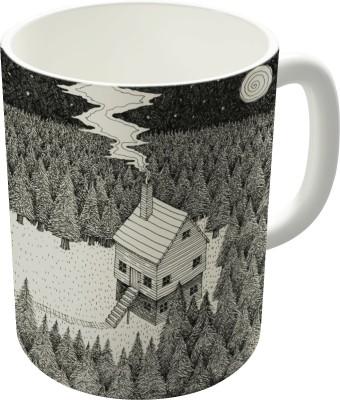 Dreambolic The Middle Of Nowhere Vacancy Zine Ceramic Mug