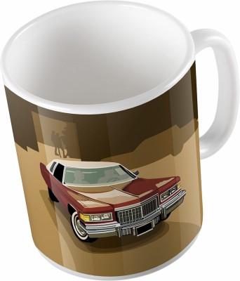 Uptown 18 Coffee Ceramic Mug