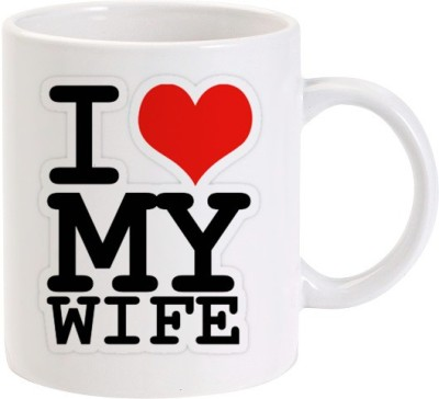 Lolprint 03 I Love my Wife Ceramic Mug