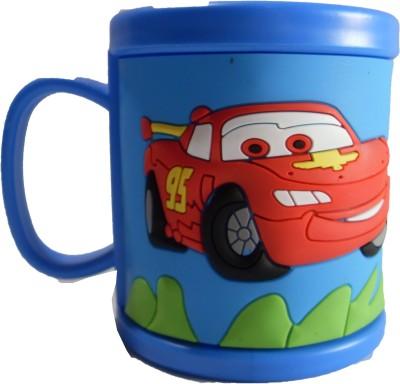 AYAANGLOBALMART MC QUEEN EMBOSSED CUP Plastic Mug