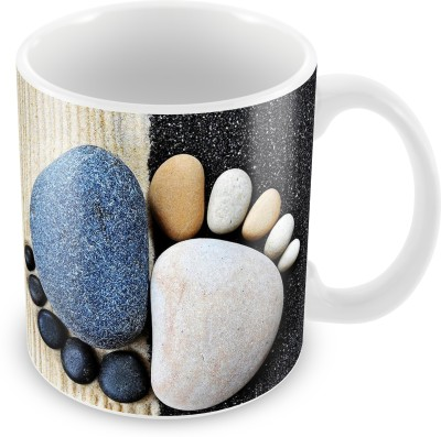 Prinzox Rock Pug Mark Ceramic Mug