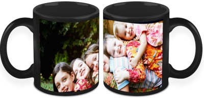 HomeSoGood A Cheerful Group Of Kids (Set Of 2) Ceramic Mug