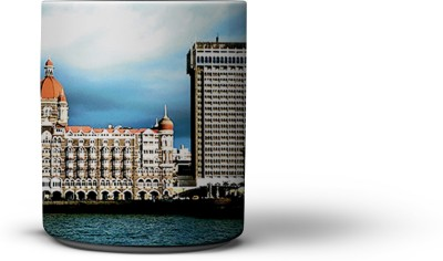 The Nodding Head India Gate and Taj Coffee Ceramic Mug