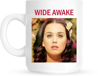 Huppme Katy Perry White  Ceramic Mug