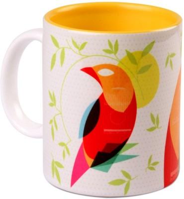 Studio Pandora Mynah Coffee Ceramic Mug