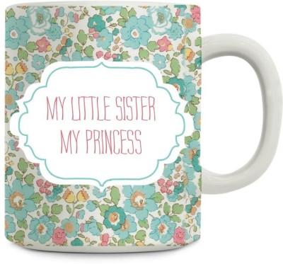 Gifts By Meeta Rakhi Gift My Sister My Princess Ceramic Mug