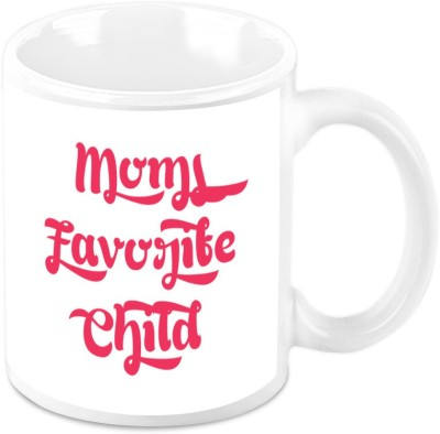 HomeSoGood Moms Favorite Child Ceramic Mug