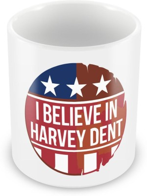 Humor Gang Harvey Dent - Batman Coffee , 12 Oz, Perfect for Coffee and Tea Lovers - Great Cup for Him or Her At Home or Office Ceramic Mug