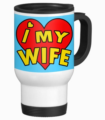 Sajawat Homes Gifts for Wife Stainless Steel Mug