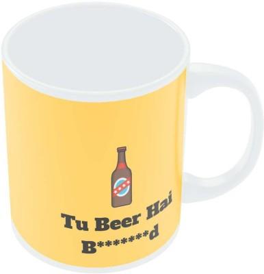 PosterGuy Tu Beer Hai Bhen***d Minimalist Porcelain Mug