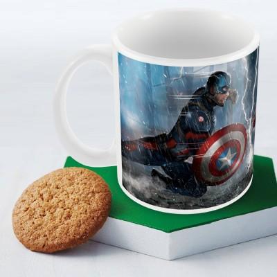 Marvel Civil War Captain America Officially Licensed (pack of 1) Ceramic Mug
