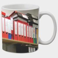 Printland Printland Library White Coffee 350 - ml Ceramic Mug(350 ml) best price on Flipkart @ Rs. 249