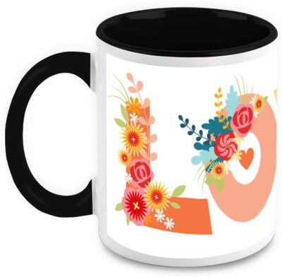 HomeSoGood Animated Love Ceramic Mug