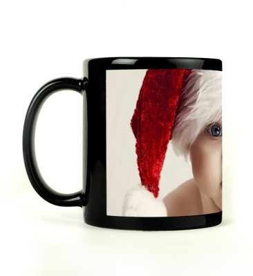 Shoperite Cute Christmas Baby Ceramic Mug