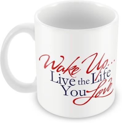 AKUP wake-up Ceramic Mug