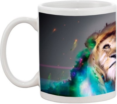 Go online shop Lion Ceramic Mug