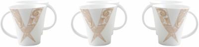 WHITE GOLD WG4506 - 124G Porcelain Mug