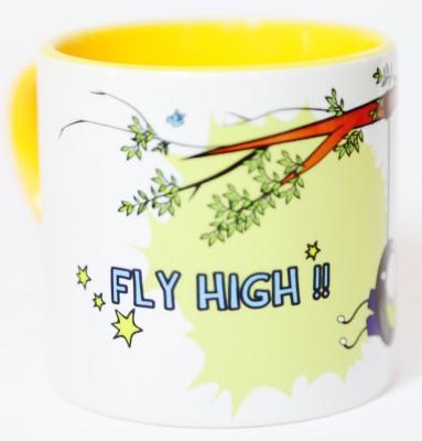 Blitzen Fly High Boy Small  Ceramic Mug