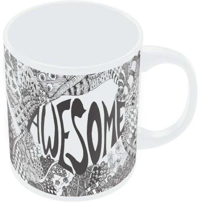 PosterGuy Awesome Line Art Sketch Detailed Sketch Ceramic Mug