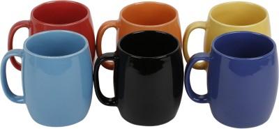 KITTENS Drum Shaped Ceramic Mug