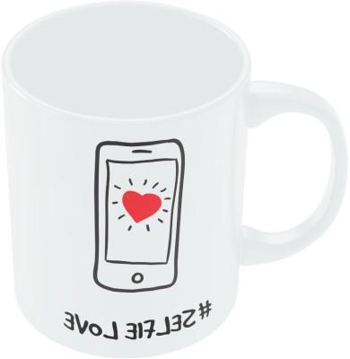 PosterGuy Selfie Love Valentine,s Day Coffee Ceramic Mug
