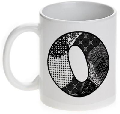 Mugwala O Alphabet Name Ceramic Mug