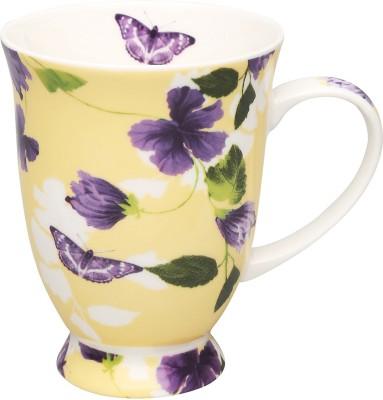 IVY by Home Stop Yellow Freesia mug Bone China Mug