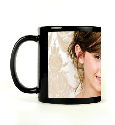 Rockmantra Emma Watson Smile Ceramic Mug