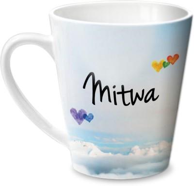 Hot Muggs Simply Love You Mitwa Conical  Ceramic Mug