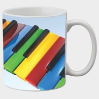 Printland Printland Music White Coffee 350 - ml Ceramic Mug best price on Flipkart @ Rs. 249