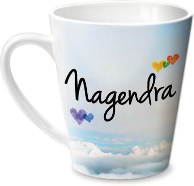 Hot Muggs Simply Love You Nagendra Conical  Ceramic Mug