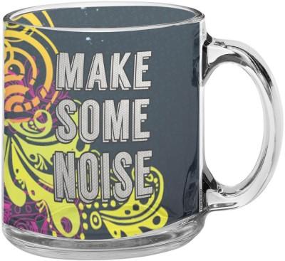 meSleep Make Some Noise Glass Mug