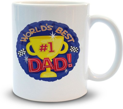 Shoppers Bucket Shoppers Bucket World's no1 Dad Ceramic Mug