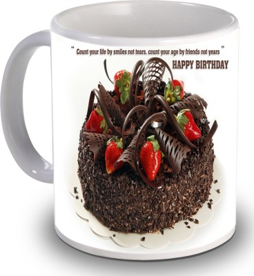Print Helllo Happy Birthday R210 Ceramic Mug