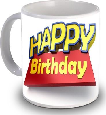 Print Helllo Happy Birthday R131 Ceramic Mug