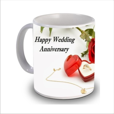 Print Hello happy anniversary 96 Ceramic Mug